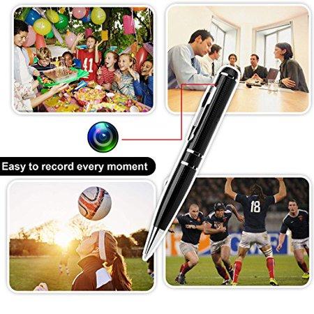 LTMADE Spy Camera 1296P 32G Hidden Camera Pen OV4689 Full Real 2K Low Illumination 1080P Pen Camera Multfunction Pen DVR Cam - image 2 of 4