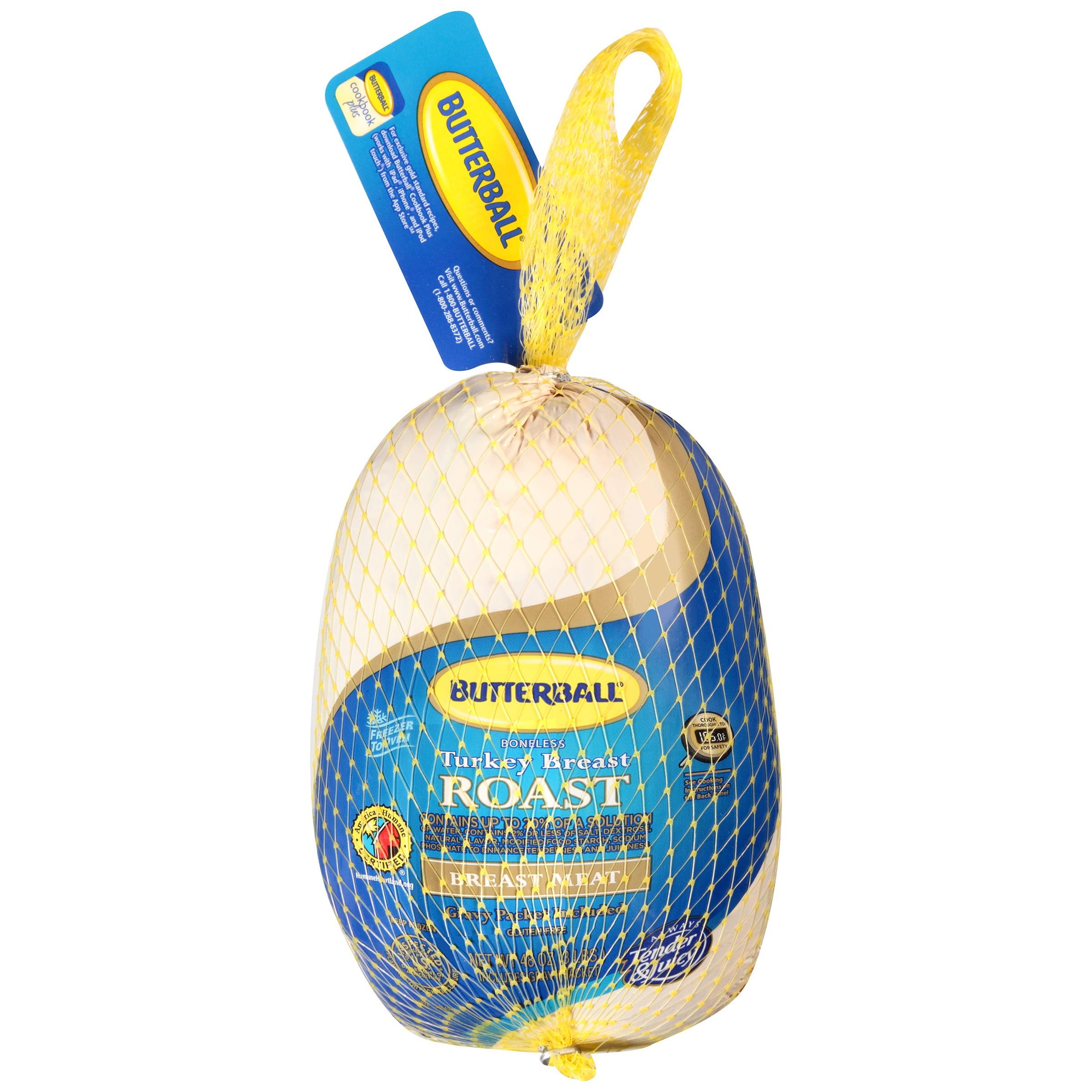 Butterball Breast Meat Boneless Turkey Breast Roast 48 oz. Bag by BUTTERBALL