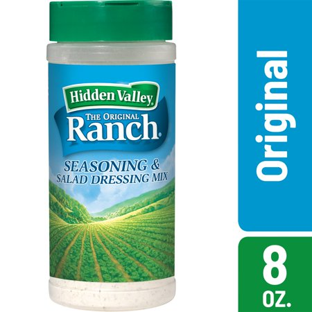 (2 pack) Hidden Valley Original Ranch Salad Dressing & Seasoning Mix Shaker - 1 Canister