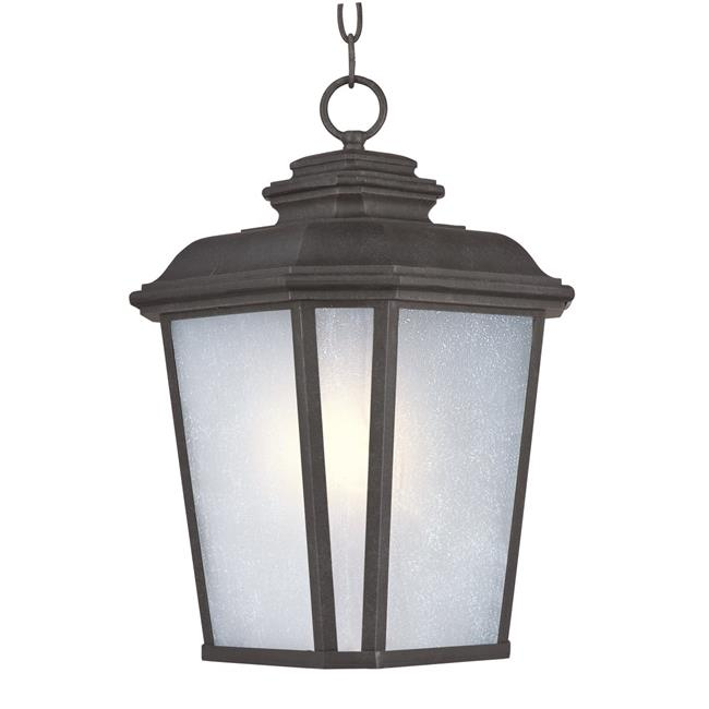 Maxim 3349WFBO 16.5 x 11 in. Radcliffe One Light Large Outdoor Hanging, Black Oxide - image 1 of 1