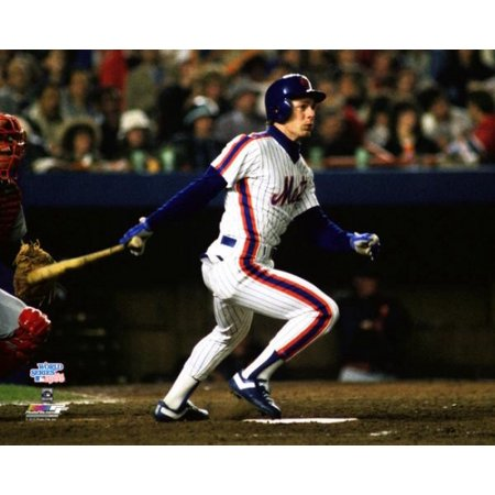 Lenny Dykstra Game 7 of the 1986 World Series Photo