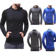 Men Hoodie Sweatshirt Coat Plain Design Hoodie Blank Pullover Hoody Sweatshirt