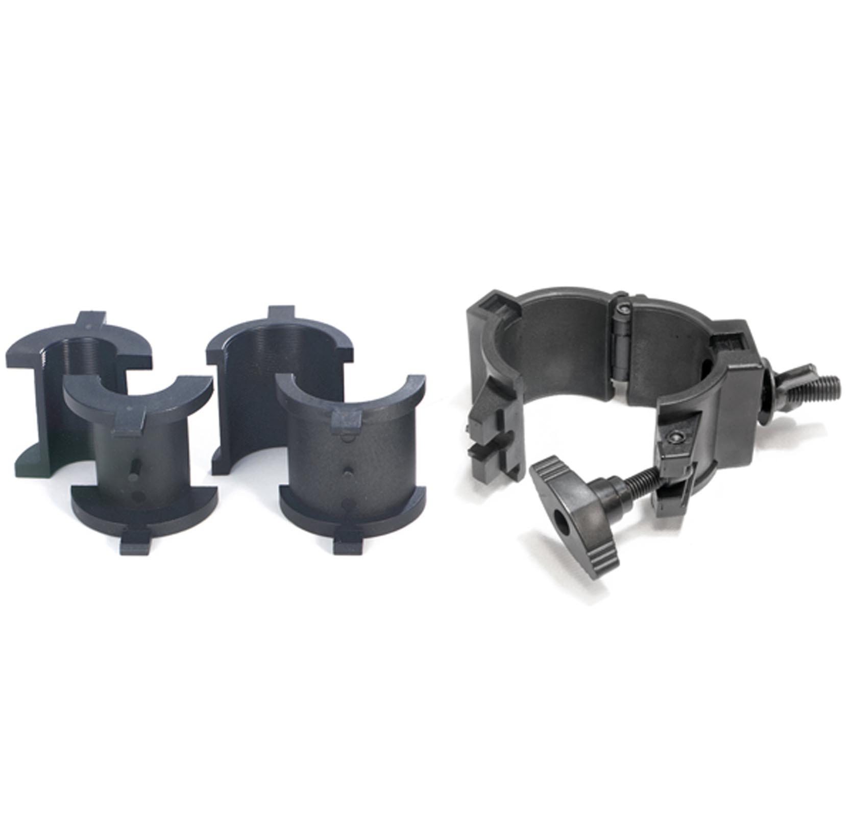 Chauvet 360° Wrap Around O-Clamps Truss Light Mounting - 75 lb Capacity (8 Pack) - image 1 of 2