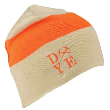 Dye Paintball 2014 Beanie - 3AM - Tan/Hunter Orange