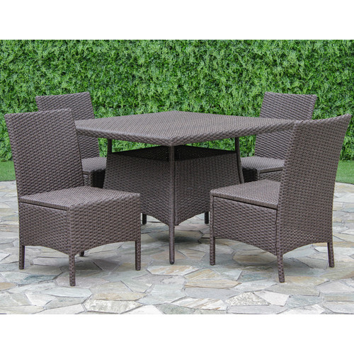Brayden Studio Fortenberry 5 Piece Dining Set