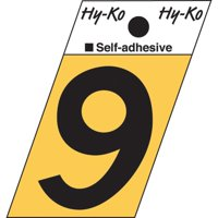 Hy-Ko Surface Mount House Number (Set of 10)