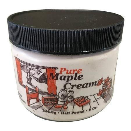 Nova Maple Cream - Pure Grade-A Maple Cream Butter Spread (1/2 Pound) Brown & Haley Butter