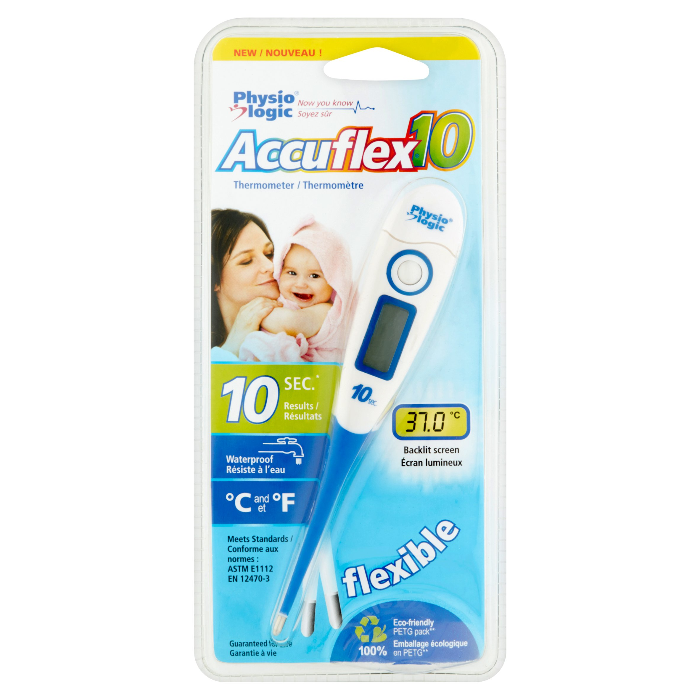 Physiologic Accuflex Thermometer
