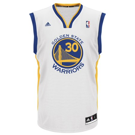 Stephen Curry Golden State Warriors Adidas NBA Replica Jersey White by