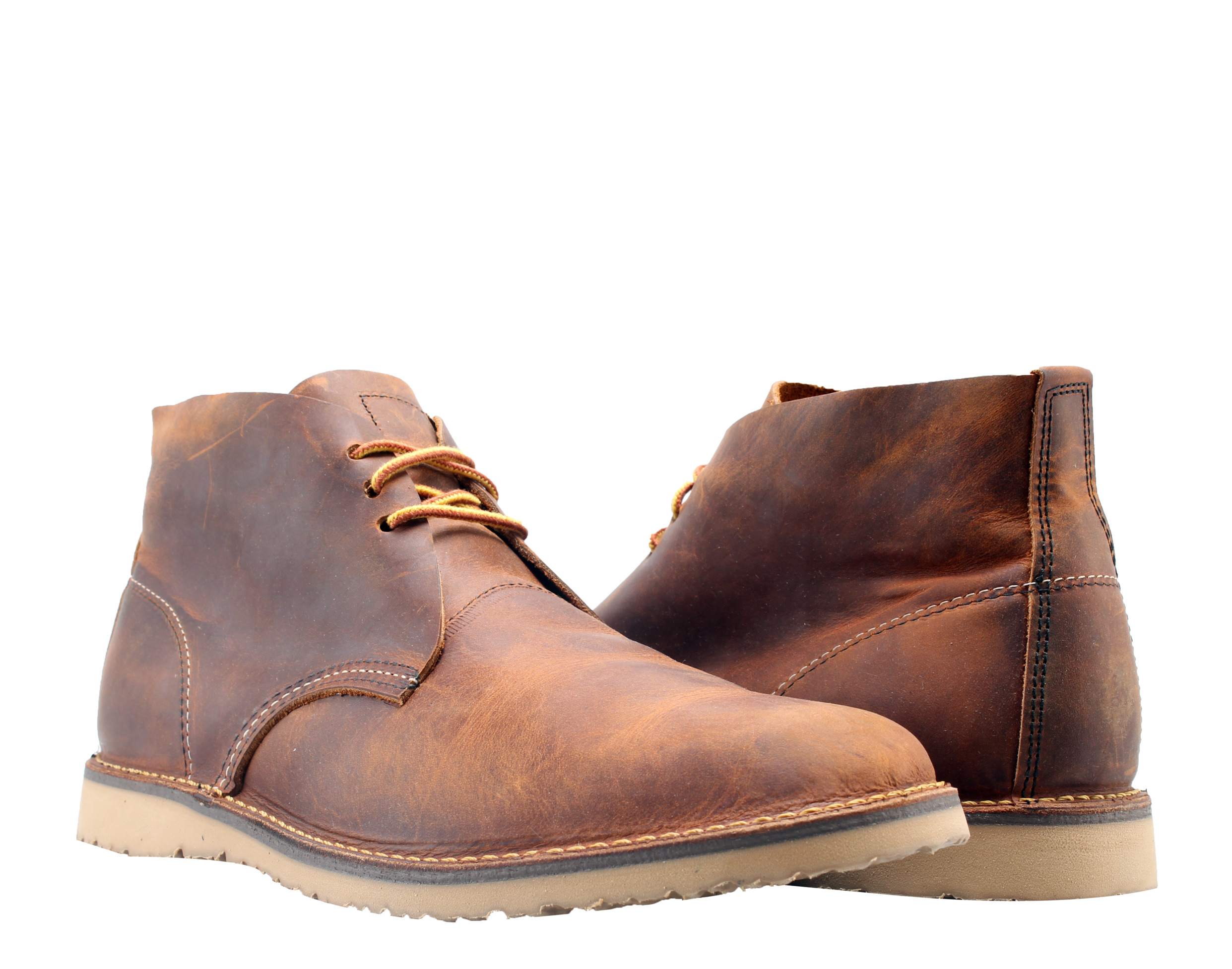 Red Wing Heritage Weekender Chukka 3322 Copper Rough Men's Shoes 03322