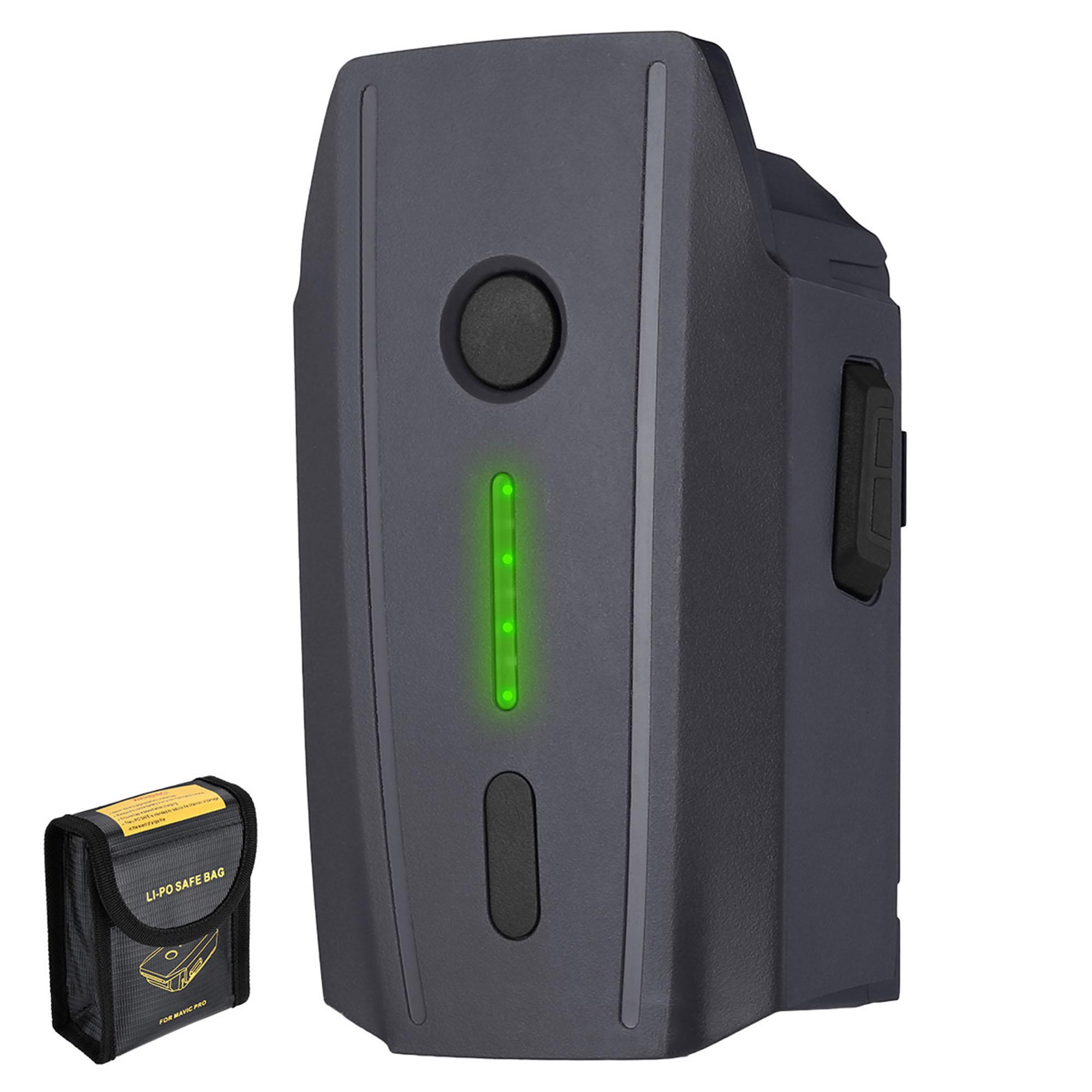 Powerextra Mavic Pro Battery 11.4V 3830mAh LiPo Intelligent Flight Battery for DJI Mavic Pro & Platinum & Alpine White Drone