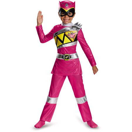 Dinosaur Halloween Costume Realistic (Power Rangers Dino Charge Pink Ranger Deluxe Toddler Halloween)