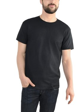 Product Image Fruit of the Loom Men s Platinum Eversoft Short Sleeve Crew T  Shirt 731104135