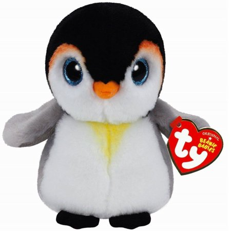 "Ty Original Beanies Pongo the Penguin 6"""