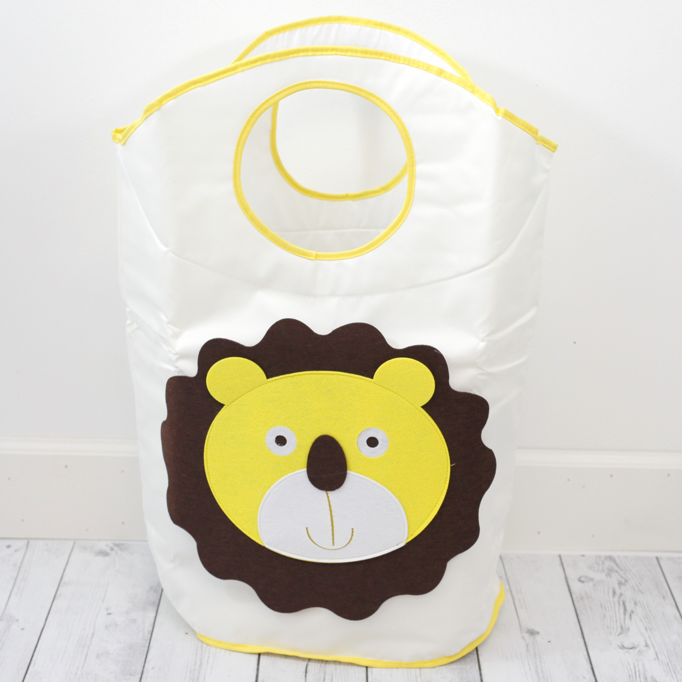 Hamper Lion Theme Children's LARGE Laundry Basket Bag