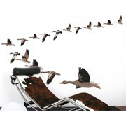 Smart Deco 19 Piece Wild Ducks Wall Decal