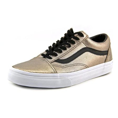 49faff6bb71 VANS - Vans Old Skool Womens Size 7 Bronze Leather Sneakers Shoes -  Walmart.com