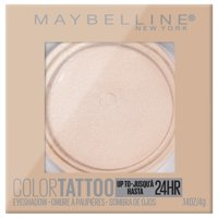 Maybelline Color Tattoo Up To 24HR Longwear Cream Eyeshadow Makeup, Front Runner, 0.14 oz.