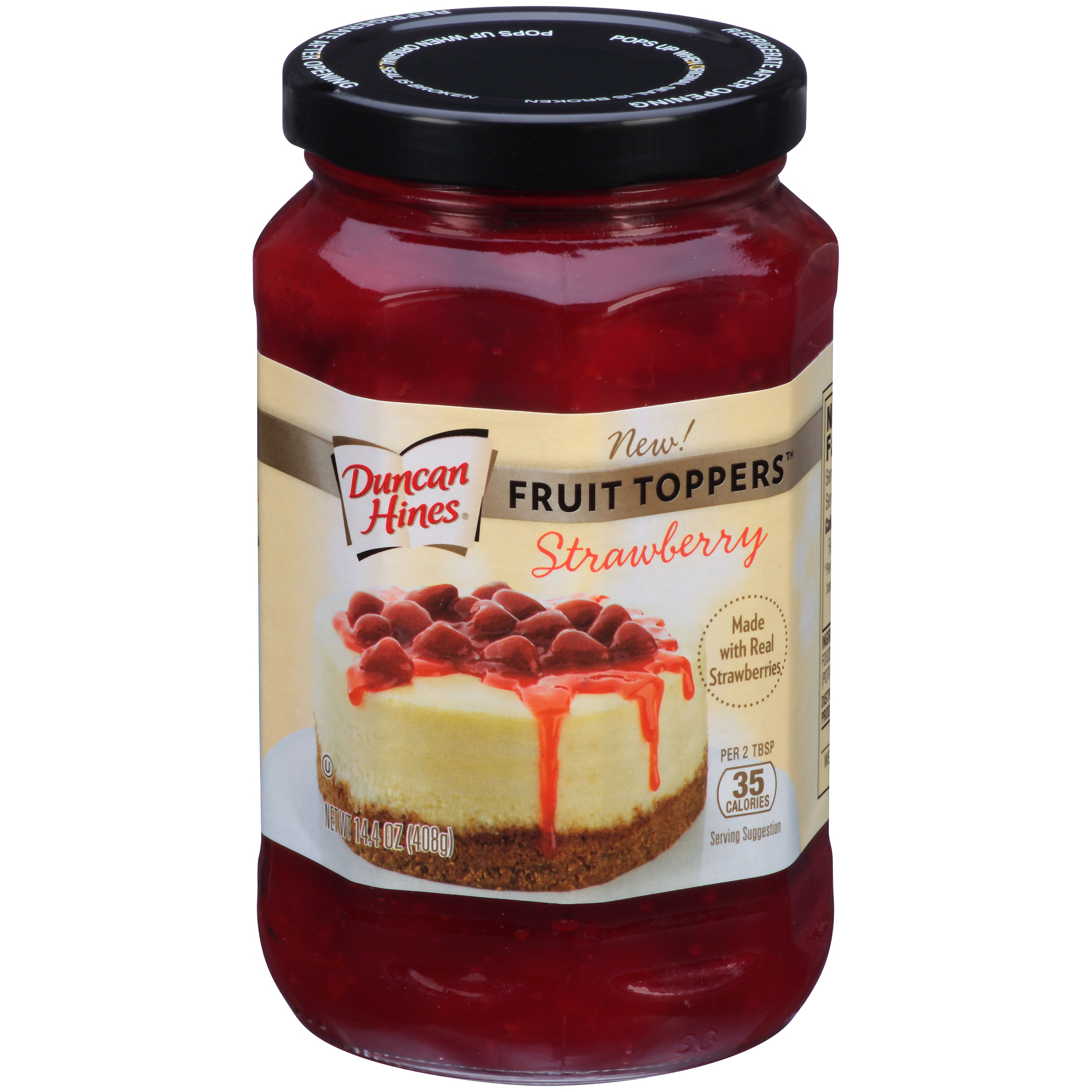 Duncan Hines Fruit Toppers Strawberry Dessert Topping, 14.4 oz by Pinnacle Foods