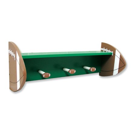 Trend Lab Football Shelf with Pegs (Football Shelf)
