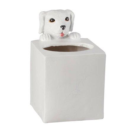 Playful Dog Tissue Box Holder by OakRidgeTM