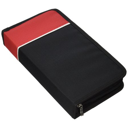 Disco Items (Premium Cloth 128 CD / DVD Media Wallet Folder Carrying Case Assorted Colors ( 1 Item Only)
