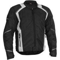 Firstgear Mesh-Tex Jacket, Size: 2XL, Distinct Name: Black, Gender: Mens/Unisex, Primary Color: Black, Apparel Material: Textile FTJ.1307.01.M005
