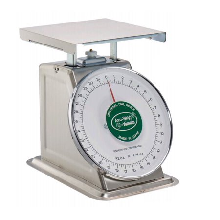 Yamato, SM(N)-40, Mechanical Portion Weighing Scale, 40 lb x 2 oz, NSF Certified