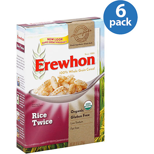 Erewhon Organic Rice Twice 100% Whole Grain Cereal, 10 oz (Pack of 12)