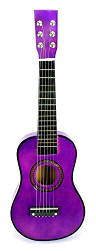 Velocity Toys Acoustic Classic Rock 'N' Roll 6 Stringed Toy Guitar Musical Instrument w ... by Velocity Toys