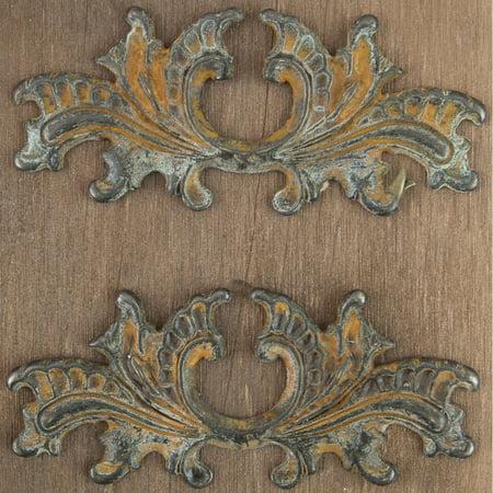 Metals Embellishments   9  3 5   X 1 5     2Pk