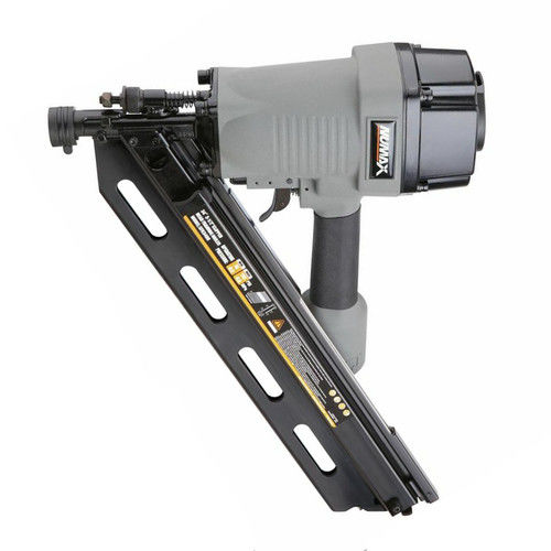 "NuMax SFR3490 34 Degree 3-1/2"" Clipped Head Pneumatic Framing Nailer"
