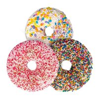 garb2ART Donut Bath Bombs, Fruit 3-Pack , Kick Back w/ These Relaxing Scents