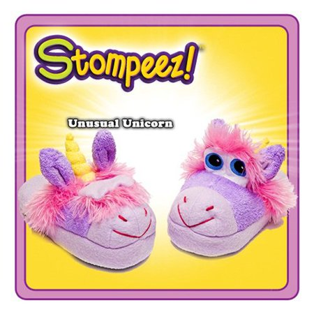 Stompeez Slippers Unusual Unicorn Medium
