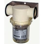 Groco WSB Salt-Water Pump Strainer with Non-Metallic Basket