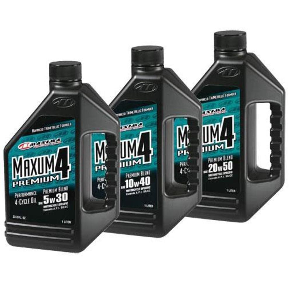 Maxima 35901 Maxum4 Premium Oil - 20W50 - 1L.