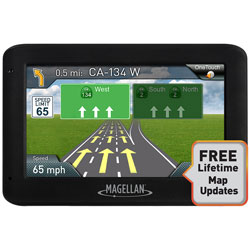 MAGELLAN® MAGELLAN  RM2520LM ROADMATE 4 3 GPS WITH LIFETIME MAPS