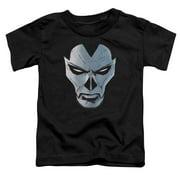 Shadowman Comic Face Little Boys Shirt