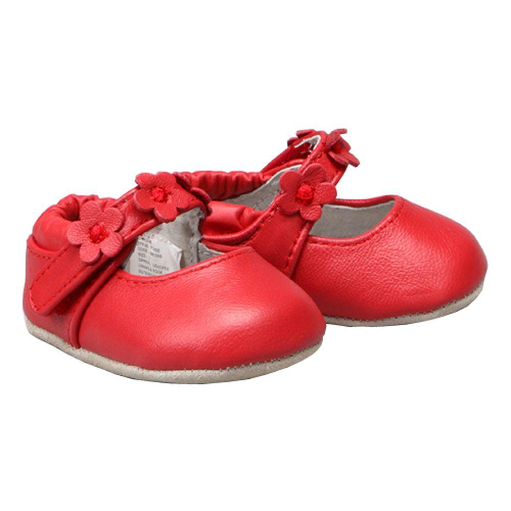 Soft Sole Daisy Mary Jane Shoes Size