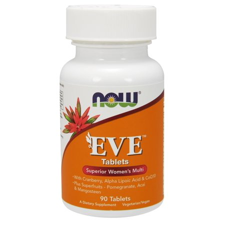 NOW Foods EVE Superior Women's Multi Tablets, 90 - Foods 90 Tablets