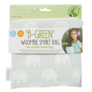 Woombie B-Green Snack Bags (Muted Violet Ele, One Size)