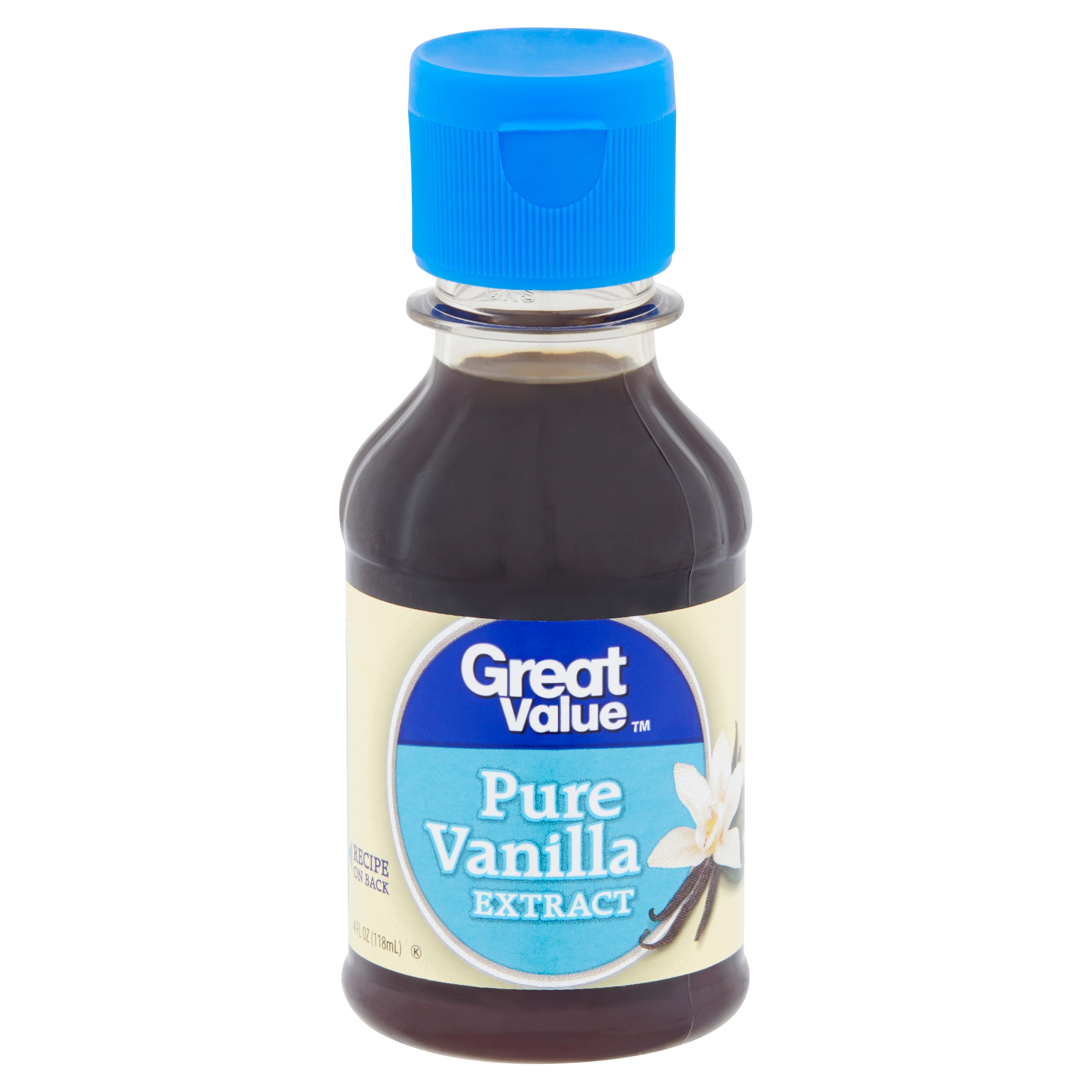 Great Value Pure Vanilla Extract, 4 fl oz