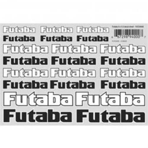 Futaba Decal Sheet Surface 8x5.5 FUTZ4000