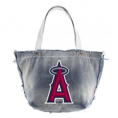 Little Earth Productions 650303-ANGL-DENM-FULL Los Angeles Angels of Anaheim Vintage Tote Denim by
