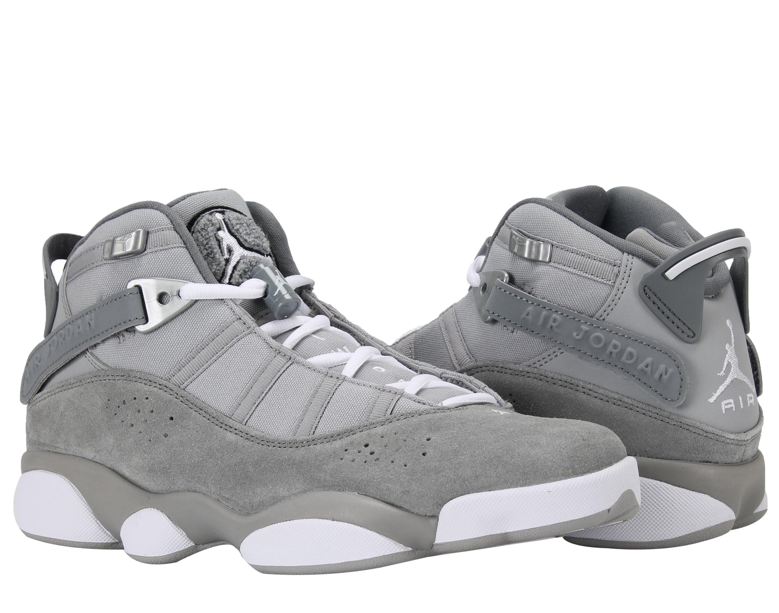 best service 945e8 8c0fa ... where can i buy jordan nike air jordan 6 rings silver white grey mens  basketball shoes