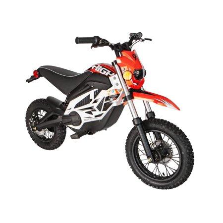 "T4B HIGH99 Kids Starter Mini Dirt Bike, 850W Brushless Electric Motor, Off-Road Scooter, 36V12Ah Motocross 18"" Wheel for Kids 9-yo and above - Orange - image 4 de 7"