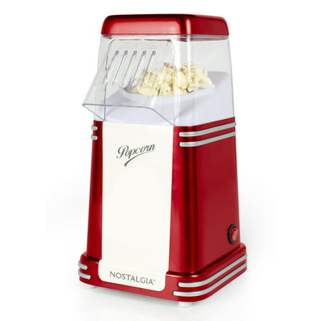 Nostalgia Rhp310 Retro Series 8 Cup Hot Air Popcorn Maker Walmart