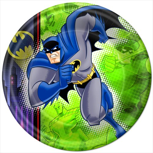 Batman 'Brave and the Bold' Large Paper Plates (8ct)