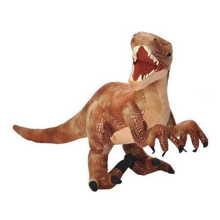 Wild Republic Velociraptor Plush, Dinosaur Stuffed Animal, Plush Toy, Gifts for Kids, Dinosauria 17 Inches - image 1 of 3