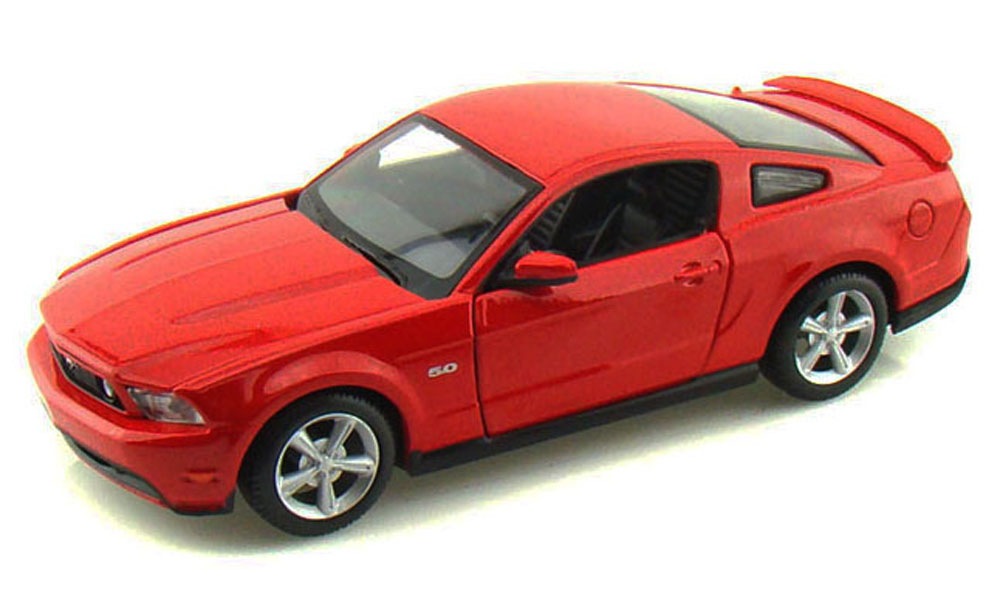 Ford Mustang GT, Red Maisto 34209 1 24 Scale Diecast Model Toy Car (Brand but NOT IN BOX) by Maisto